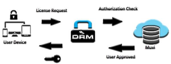 روند مدیریت حقوق دیجیتال